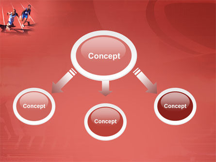 Competition PowerPoint Template, Slide 4, 03086, Sports — PoweredTemplate.com