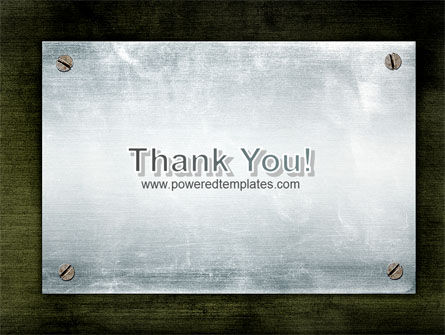 Steel Board PowerPoint Template Slide 20