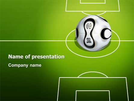 Sports: FIFA PowerPoint Template #03090