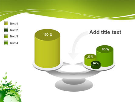 Green Environment PowerPoint Template Slide 10