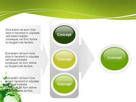 Green Environment PowerPoint Template Slide 11