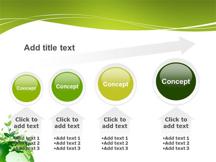 Green Environment PowerPoint Template Slide 13