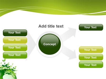 Green Environment PowerPoint Template Slide 14
