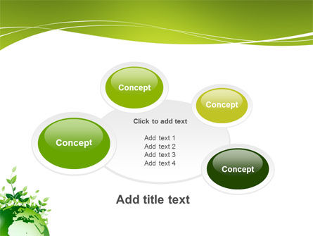 Green Environment PowerPoint Template Slide 16