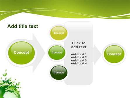 Green Environment PowerPoint Template Slide 17