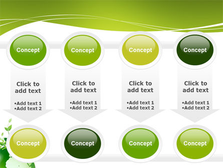Green Environment PowerPoint Template Slide 18