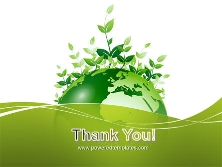Green Environment PowerPoint Template Slide 20