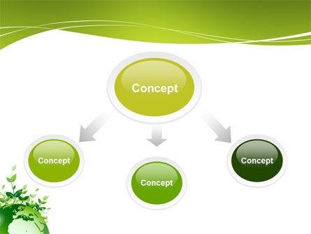 Green Environment PowerPoint Template, Slide 4, 03091, Nature & Environment — PoweredTemplate.com