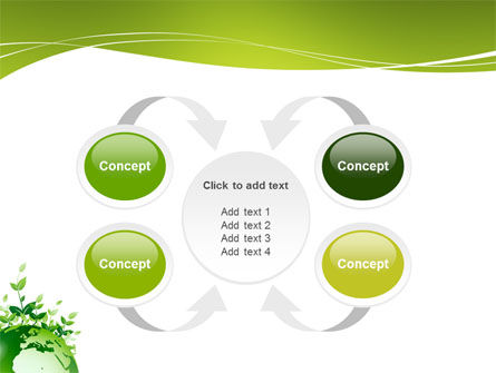 Green Environment PowerPoint Template Slide 6