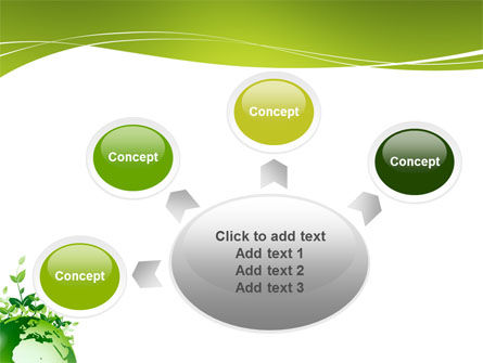 Green Environment PowerPoint Template Slide 7