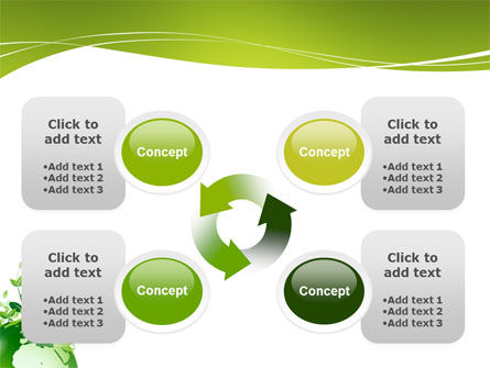 Green Environment PowerPoint Template Slide 9