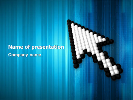 Pointer PowerPoint Template, 03092, Technology and Science — PoweredTemplate.com