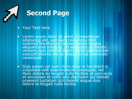 Pointer PowerPoint Template, Slide 2, 03092, Technology and Science — PoweredTemplate.com