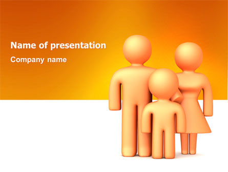 Consulting: Family Care PowerPoint Template #03094