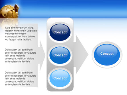 Global Keyhole PowerPoint Template Slide 11