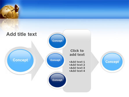 Global Keyhole PowerPoint Template Slide 17