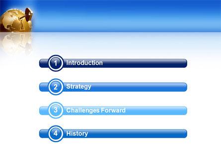 Global Keyhole PowerPoint Template, Slide 3, 03095, Global — PoweredTemplate.com
