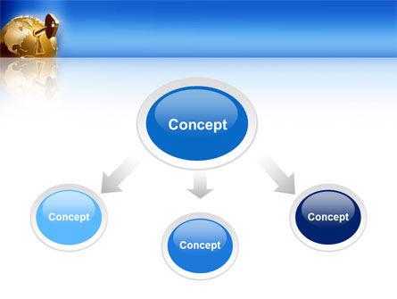 Global Keyhole PowerPoint Template, Slide 4, 03095, Global — PoweredTemplate.com