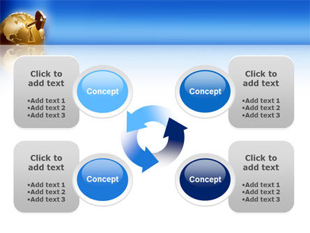 Global Keyhole PowerPoint Template Slide 9