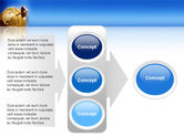 Global Keyhole PowerPoint Template#11