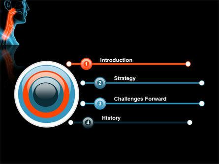 Respiratory Tract PowerPoint Template, Slide 3, 03099, Medical — PoweredTemplate.com