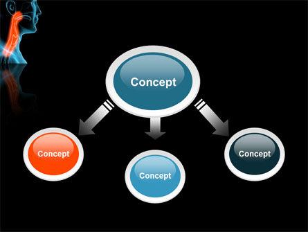 Respiratory Tract PowerPoint Template, Slide 4, 03099, Medical — PoweredTemplate.com