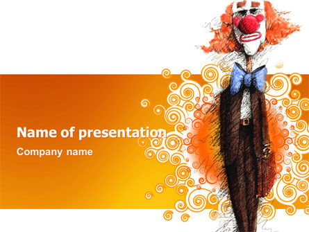 Holiday/Special Occasion: Fools Day PowerPoint Template #03100