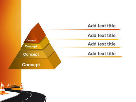 Road Work PowerPoint Template Slide 4