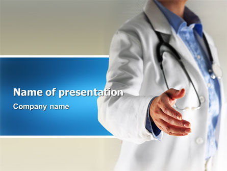 Medical: Pediatrist PowerPoint Template #03105
