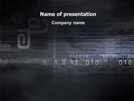 Dark Chip PowerPoint Template