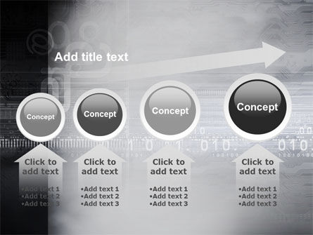 Dark Chip PowerPoint Template Slide 13