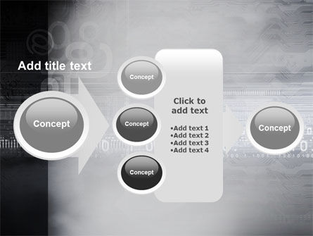 Dark Chip PowerPoint Template Slide 17