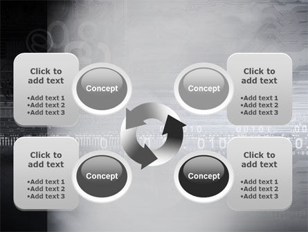 Dark Chip PowerPoint Template Slide 9