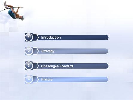 Jumping PowerPoint Template, Slide 3, 03108, Sports — PoweredTemplate.com