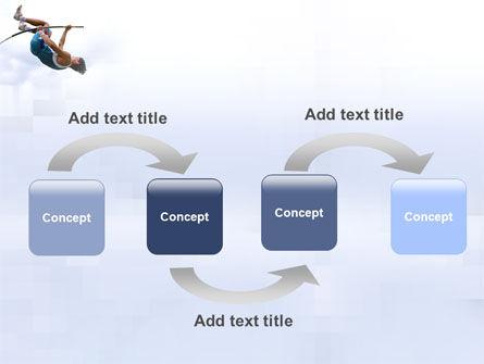 Jumping PowerPoint Template, Slide 4, 03108, Sports — PoweredTemplate.com