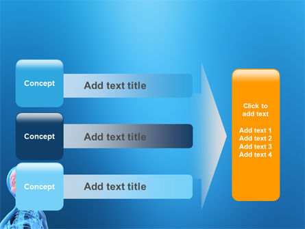 Brain In Skull PowerPoint Template Slide 12