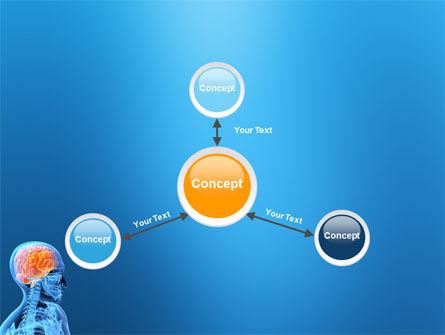 Brain In Skull PowerPoint Template Slide 14