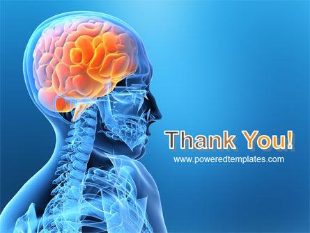 Brain In Skull PowerPoint Template Slide 20