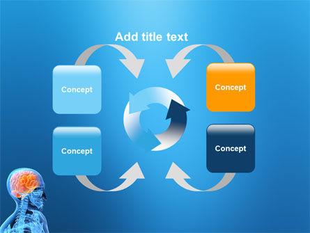 Brain In Skull PowerPoint Template Slide 6