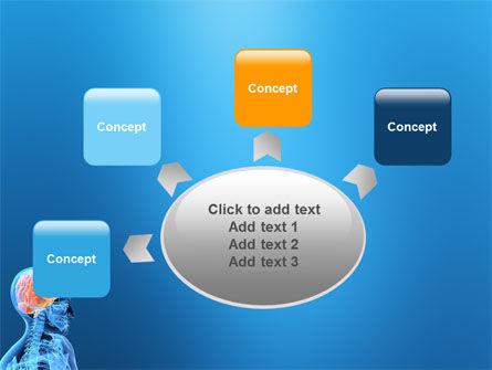 Brain In Skull PowerPoint Template Slide 7