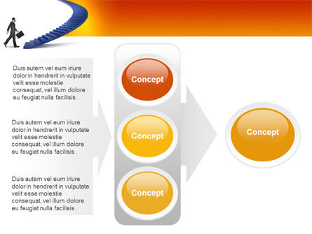 Career Rising PowerPoint Template Slide 11