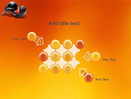 Boxing Gloves PowerPoint Template Slide 10