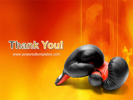 Boxing Gloves PowerPoint Template Slide 20