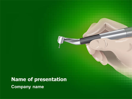 Medical: Dentist PowerPoint Template #03114