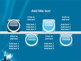 Futuristic Blue PowerPoint Template#19