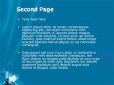 Futuristic Blue PowerPoint Template#2