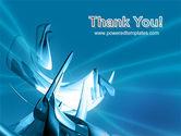 Futuristic Blue PowerPoint Template#20