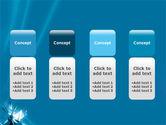 Futuristic Blue PowerPoint Template#5