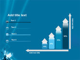 Futuristic Blue PowerPoint Template#8