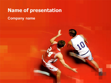 Sports: Sport Game Free PowerPoint Template #03120